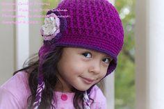 hats I wanna make Crochet Beanie Hat, Crochet Baby Hats, Crochet Scarves, Free Crochet, Crochet Panda, Beanie Hats, Knitted Hats Kids, Knit Hats, Easy Crochet Patterns