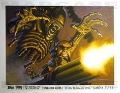 Operation: Aliens Card A7 - Beauvais Comic Art