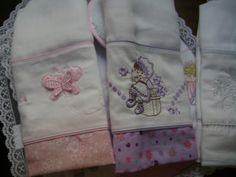 Nina Baby: Fraldas Bordadas