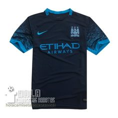 Camiseta Segunda Manchester City 2015-16  €15.5