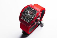 Richard Mille RM 011 Red TPT Quartz Limited Edition Watch