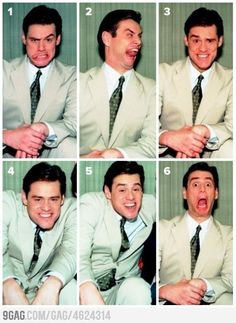 Which is your favorite Jim Carrey face?