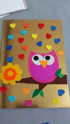 """The post """"Preschool Owl Activities (Molded)"""" appeared first on Pink Unicorn Curriculum Origami Easy, Origami Paper, Diy Paper, Diy And Crafts, Crafts For Kids, Arts And Crafts, Owl Activities, Puppet Crafts, Hobbies That Make Money"""