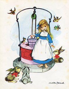 La casita de chocolate. Cuentos de Grimm. Toray. 1972