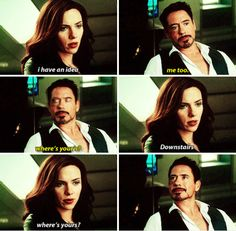 Natasha & Tony