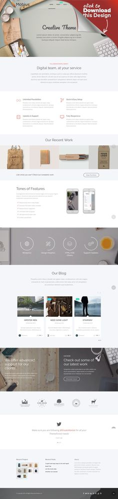 Mobius - Responsive Multi-Purpose WordPress Theme blog, business, clean, corporate, creative, css3, isotope, localization, modern, multipurpose, parallax, portfolio, retina, woocommerce About Mobius: Mobius is a multipurpose, creative, clean, retina ready and fully responsive WordPress Theme. It is suited for any kind of website such as business and corporate sites, e-shops, agencies, creative portfolio, blog and photograph sites. The them...
