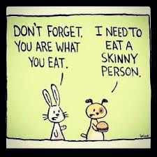 what you eat #eat  #skinny  #person