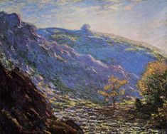 The Old Tree, Sunlight on the Petit Cruese by @claude_monet #impressionism