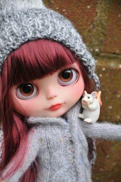 OOAK Custom Blythe Doll Snowdrop Customized by Zuzana D | eBay