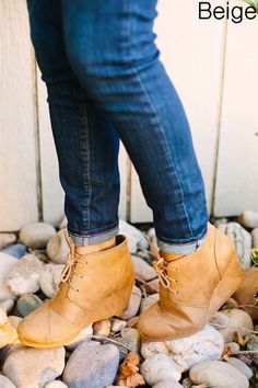 These are the MUST HAVE wedges for Fall! COLORS: Black Tan Grey Beige Burgundy Taupe Khaki These have been running TRUE TO SIZE Made with a suede material. Grey And Beige, Taupe, Fall Wedges, 2 Inch Heels, Timberland Boots, Must Haves, Fashion Shoes, Oxford Shoes