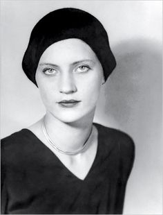 Lee Miller photographed by Man Ray in Paris, 1930.