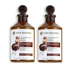 ลดราคา ซื้อ 1 แถม 1 Yves Rocher Repair Hair Repair Oil (150ml x 2pcs) ผลิตภัณฑ์บำรุงผม เพื่อการบำรุงเส้นผมอย่างล้ำลึก ด้วยส่วนผสมจากธรร