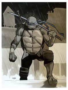 Teenage Mutant Ninja Turtle - Leonardo by Mahmud Asrar *