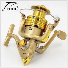 HOT SALE!! Spinning reel fishing reel YK1000-YK6000 6BB 5.2:1 spinning reel casting fishing reel Left/Right Interchangeable