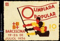 Temes-Varis Campanyes República :: Segells del Pavelló de la República (Universitat de Barcelona)
