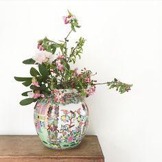 Blumen in der Vase flowerpowerbloggers