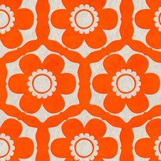 Funky Flora Tangerine Dream | Graham and Brown