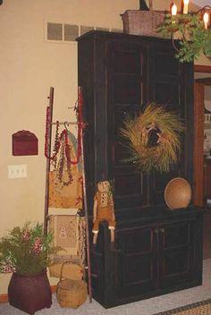 having a primitive christmas