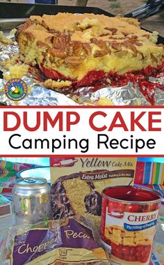 Dutch Oven Dump Cake Camping Dump Cake Recipe made in a Dutch Oven – Looking for a camping dessert? Try this campfire spin on the classic Dump Cake recipe that is made in the dutch oven. It's much tastier than baked at home. Dutch Oven Dump Cake Recipe, Dutch Oven Desserts, Dutch Oven Recipes, Dump Cake Recipes, Dump Cakes, Dessert Recipes, Poke Cakes, Bundt Cakes, Camping Desserts