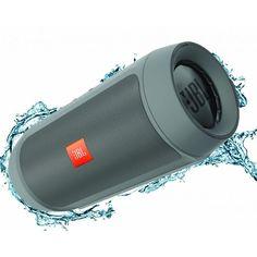 JBL Charge 2+ głośnik bezprzewodowy Bluetooth szary - Sklep headbeat.pl - Muzycznie Nakręceni! Sklep ze słuchawkami