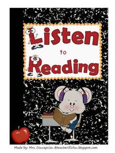 Listen to reading worksheets. Use these worksheets to check for understanding. Comes with 6 worksheets so students can work on after listen to read...
