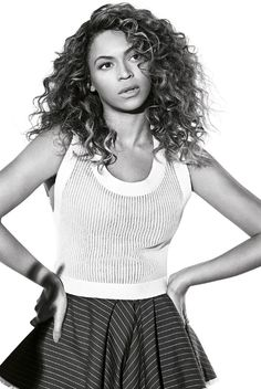 I like Beyonce's hair in this photo.