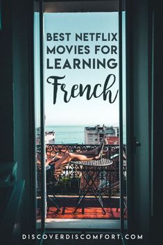 Watching movies on Netflix is one of the best ways to either passively or actively improve language skills. But not all the best French movies are on Netflix, and it's not clear which movies on Netflix are the ones worth watching. Here's are best French movies on Netflix for learning French. | French Netflix | Learn french tips | learn french beginner | #learnfrench #frenchnetflix #frenchmovies #discoverdiscomfort Learn French Fast, Learn French Beginner, French Language Learning, Learning French, Foreign Language, French Practice, French Verbs, French Movies, French Resources