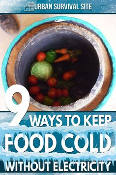 What if a disaster knocks out the power to your home, leaving you without a refrigerator? Here are nine ways to keep your food cold. Survival Supplies, Emergency Supplies, Survival Food, Survival Prepping, Emergency Preparedness, Survival Skills, Survival Stuff, Urban Survival, Cold Meals