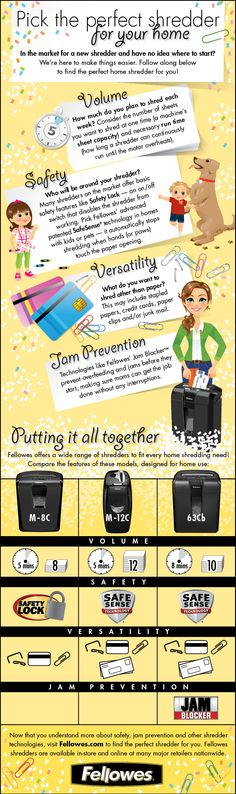 Pick the perfect shredder for your home @Fellowes, Inc., Inc. #Sponsored #MC
