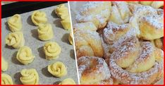 Amaretti from Italy - HQ Recipes My Favorite Food, Favorite Recipes, Bulgarian Recipes, Cheese Cookies, Good Food, Yummy Food, Czech Recipes, Romanian Food, Rose Cake
