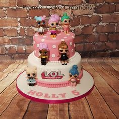 Lol Doll Cake. #loldollcake