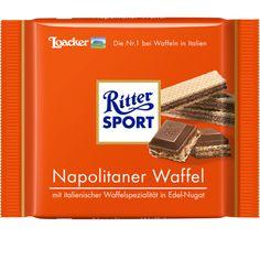 RITTER SPORT Napolitaner Waffel Schokolade