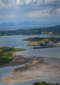 Birdseye view of Sligo