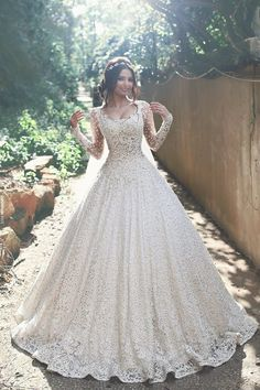 10 Long Sleeved Wedding Gowns That Are Truly A Hit!