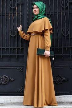 Latest Fashion Cape Style Abaya with Hijab Fashion – Girls Hijab Style & Hijab Fashion Ideas Islamic Fashion, Muslim Fashion, Modest Fashion, Fashion Dresses, Abaya Mode, Mode Hijab, Abaya Designs, Couture, Hijab Stile