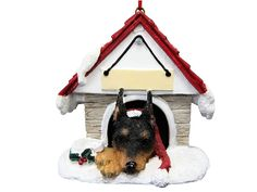 Miniature Pinscher Ornament A Great Gift For Miniature Pinscher Owners Hand... in Collectibles, Holiday & Seasonal, Christmas: Current (1991-Now), Ornaments, Animals, Dogs | eBay