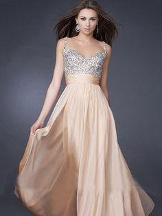 Custom shoulder sleeveless evening dress, crystal strap shoulder evening dresses, beautiful evening dress
