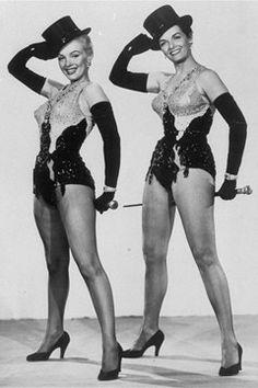 Marilyn Monroe and Jane Russell - Gentlemen Prefer Blondes.
