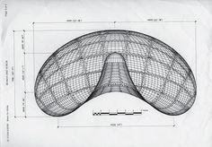 Anish Kapoor: Cloud Gate diagram