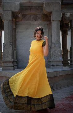 Black and Orange Veldari Dress – Tamara Kalamkari Dresses, Ikkat Dresses, Maxi Dresses, Long Gown Dress, Sari Dress, Indian Long Gowns, Designer Evening Gowns, Yellow Maxi Dress, Kurta Designs Women
