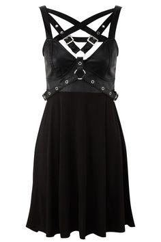 ENCHANTMENT 4-PLAY DRESS #killstar, #harnessdress #gothclothing #gothdress, #nugoth, #gothfashion #alternativefashion