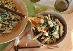Σολομός με πέννες και μπρόκολο Potato Salad, Potatoes, Meat, Chicken, Cooking, Ethnic Recipes, Food, Kitchen, Potato