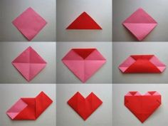 Origami Heart Picture