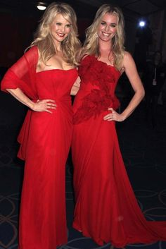 Christie Brinkley with Rebecca Romijn Rebecca Romijn, Christie Brinkley, Beauty Industry, American Actress, Style Icons, Fashion Models, Celebrity Style, Product Launch, Skin Care