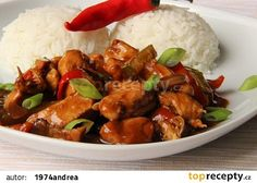 Kuřecí nudličky na pivu a balsamiku recept - TopRecepty.cz Kung Pao Chicken, No Cook Meals, Food And Drink, Treats, Cooking, Ethnic Recipes, Fitness Man, Foods, Asia