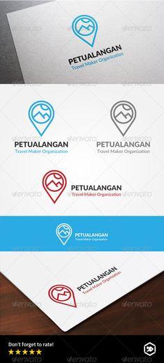 Travel Adventure Locator Logo - Symbols Logo Templates