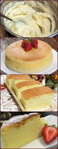 Gluten free, 3 ingredients, cream cheese, white violate and eggs. Cake Recipes, Dessert Recipes, Appetizer Recipes, Portuguese Recipes, Sweet Desserts, Cupcake Cakes, Freezer, Sweet Tooth, Food And Drink