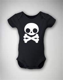 Skull and Crossbones Infant Snapsuit