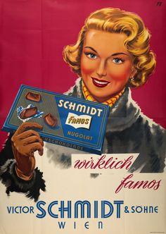 Schmidt wirklich famos, Victor Schmidt & Söhne - Wien  FB MONOGRAMME – 1950 circa 2251.1600