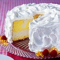 Sunshine Cake - The cake part sounds good, needs a different frosting other than Cool Whip.